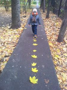 Как заниматься с ребенком осенью